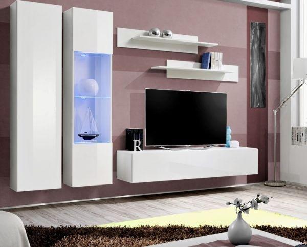 Wohnwand Nesti Schrankwand Anbauwand Möbelset 21