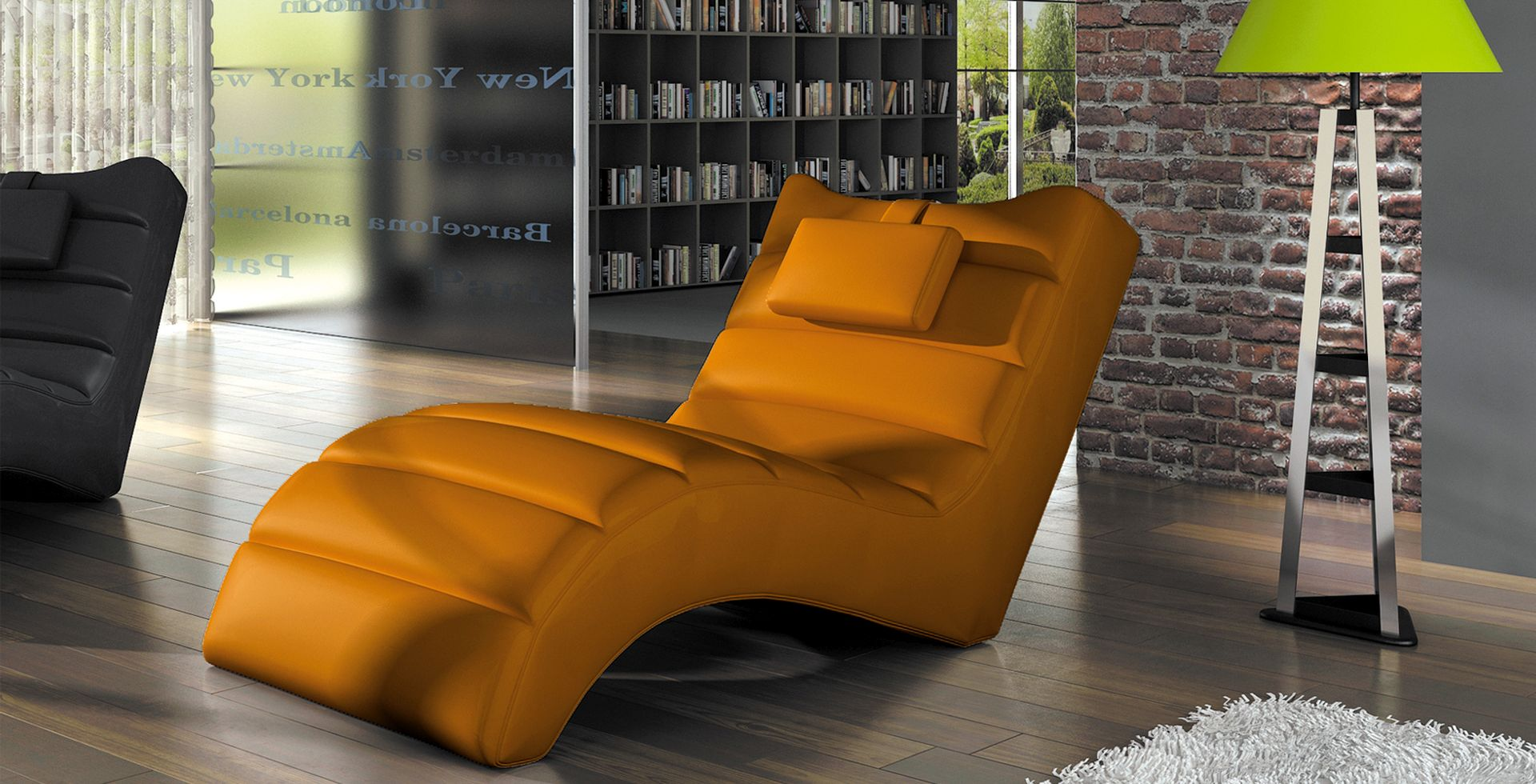 Relaxliege Chaiselongue Liegesessel Relaxsessel New York 11