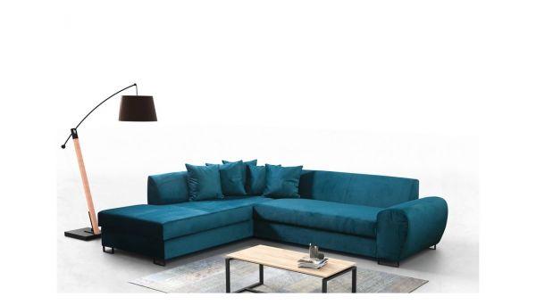 Ecksofa Viena mit Schlaffunktion Eckcouch Polstersofa Couch 12