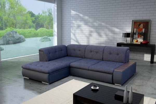 Ecksofa Trend mit Schlaffunktion Eckcouch Polstersofa Couch 17