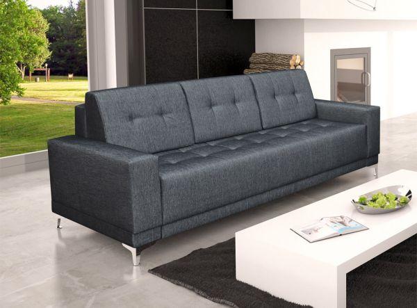 Sofa mit Schlaffunktion Polstersofa Couch Mirella 15