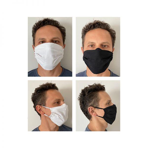 Baumwollmaske Mundmaske waschbar wiederverwendbar