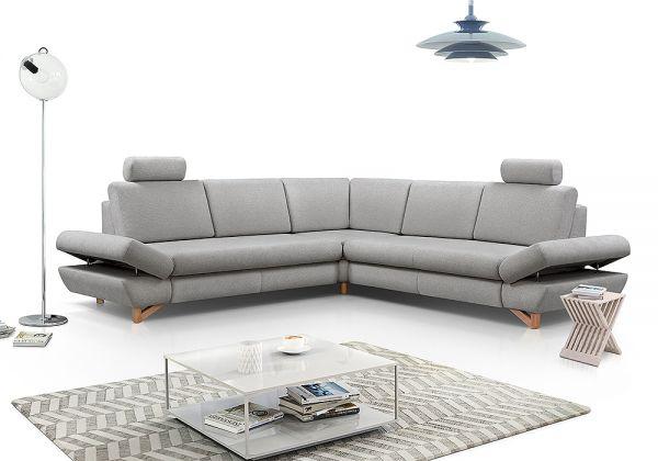 Ecksofa mit Schlaffunktion Schlafsofa Couch Avanti III 13