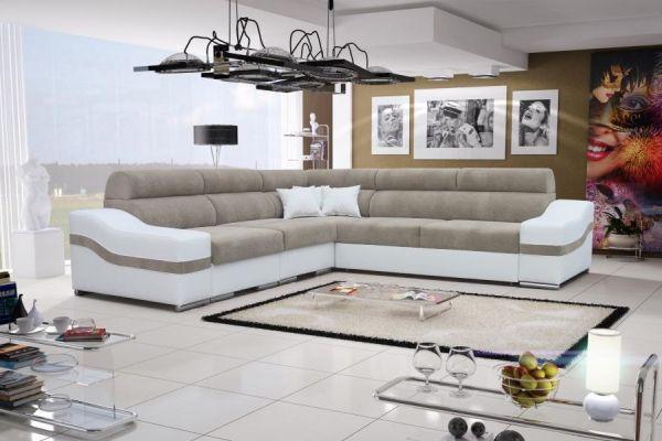Ecksofa mit Schlaffunktion Alto Polstersofa Couch XL Sofa 26
