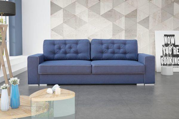 Sofa mit Schlaffunktion Polstersofa Couch Schlafsofa Ana 15