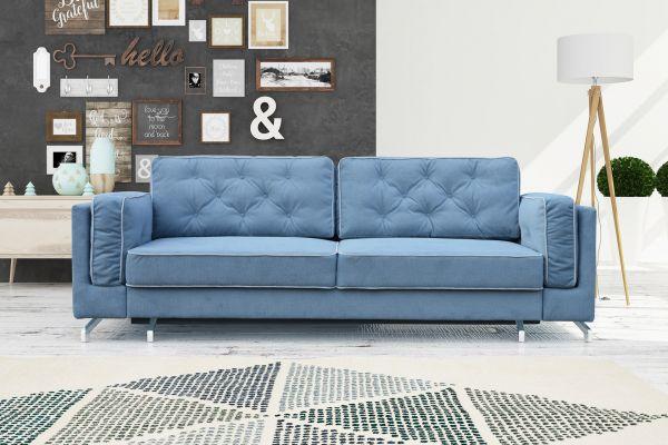 Sofa mit Schlaffunktion Polstersofa Couch Livorno 15