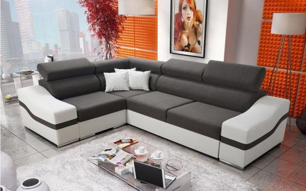 Ecksofa Diego Polstersofa Couch Sofa Schlafsofa Modern 26