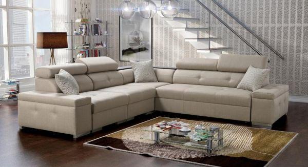 Ecksofa Lumi Polstersofa Couch Schlafsofa Modern 26