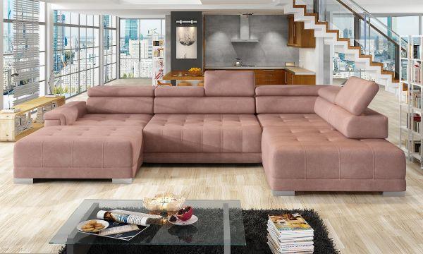Ecksofa Polstercouch Diane III Wohnlandschaft Big Sofa 11