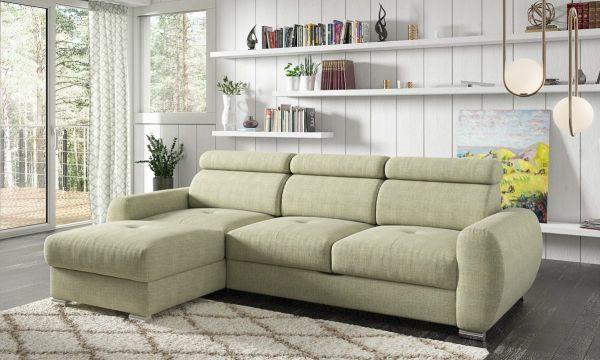 Ecksofa mit Schlaffunktion Schlafsofa Couch Selma Modern 03