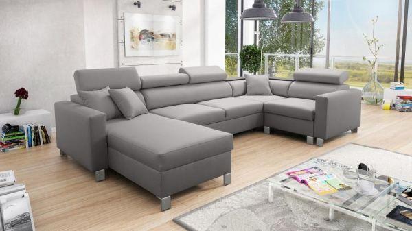 Wohnlandschaft Lotta V großes Sofa mit Schlaffunktion 26
