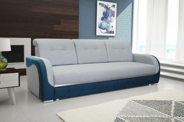 Sofa mit Schlaffunktion Polstersofa Couch Schlafsofa Bino 15
