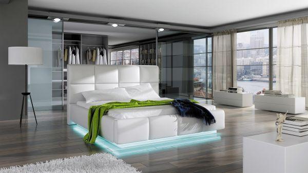Polsterbett Artis 160x200 mit Bettkasten 11