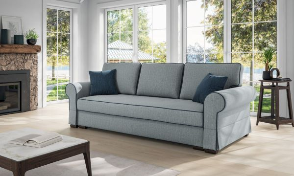 Schlafsofa 3-Sitzer Couch Polstersofa Roxy Polstercouch Antik 03