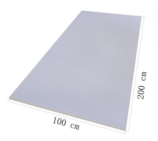Schaumstoffplatte100x200 25/44 Mittelhart