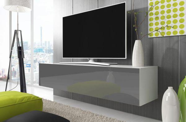Fernsehtisch Rtv 8 160 cm Lowboard Hochglanz Unterschrank TV-Schrank 07