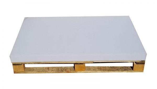 Schaumstoffplatte Palettenkissen 120x80 RG 25/44 Mittelhart