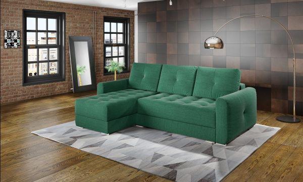 Ecksofa mit Schlaffunktion Schlafsofa Couch Puerto Modern 03