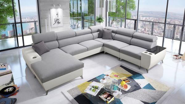 Wohnlandschaft Meggy VIII XXL Sofa Modern 26