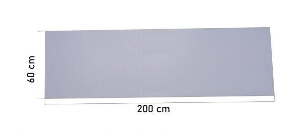 Schaumstoffplatte 60x200 25/44 Mittelhart