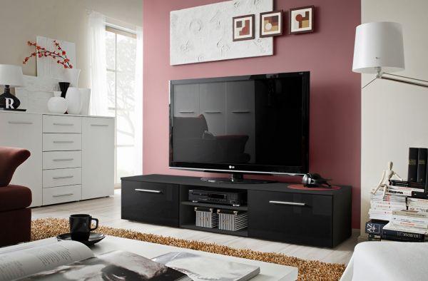 Fernsehtisch TV-Board Unterschrank Lowboard Fernsehschrank Kali 21